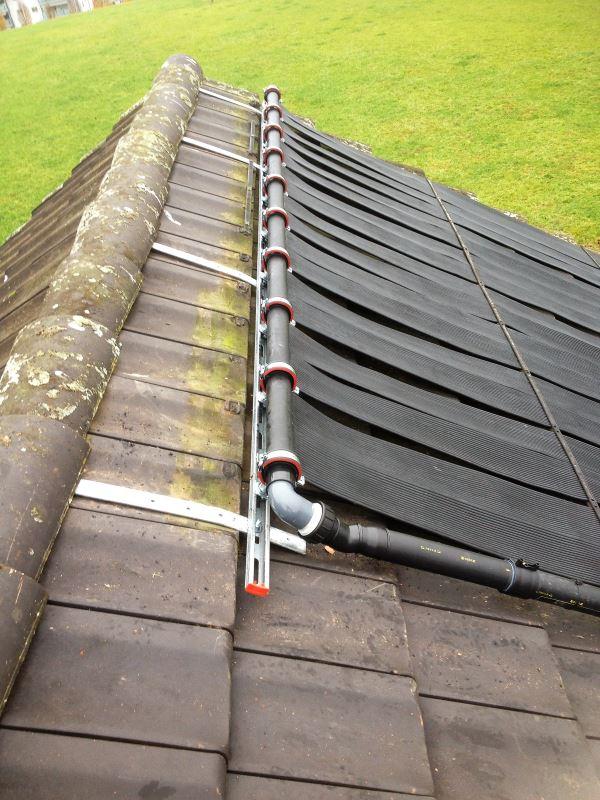 Schwimmbadheizung mit solartechnik Markisen auf dach montage